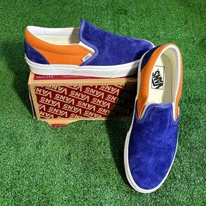 Vans P&C Classic Slip-On Sneakers Shoes Size 9 NEW